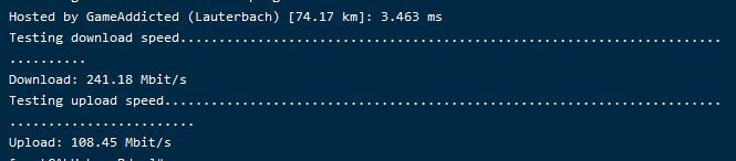 此图像的alt属性为空;文件名为cloudraft-vps-speedtest.png